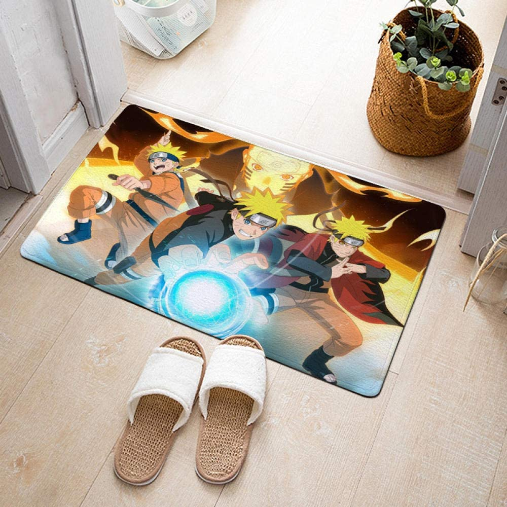 Anime Naruto Rug Area Rugs for Oakland Mall Gaming Home Bathroom Bedroom Year-end gift Door