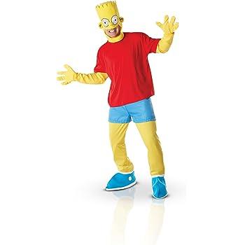 Rubie S Deguisement Officiel Les Simpson Deguisement Costume Bart Adulte Taille Standard I 880655std Amazon Fr Jeux Et Jouets