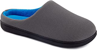 کفش راحتی مردانه Wishcotton Foom Memory Indoor Outdoor Outdoor Cousy House با کف لاستیکی محکم