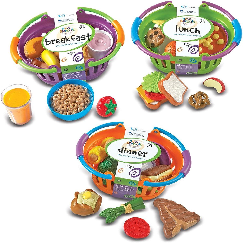 Learning Resources New Sprouts Frühstücks, Lunch und DinnerSet,