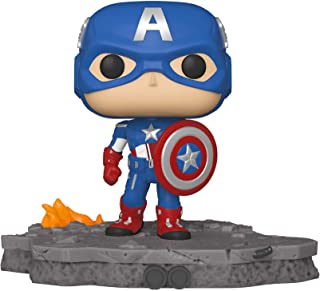 Funko Pop! Deluxe, Marvel: Avengers Assemble Series - Capitán América, Exclusivo de Amazon, Figura 6 de 6