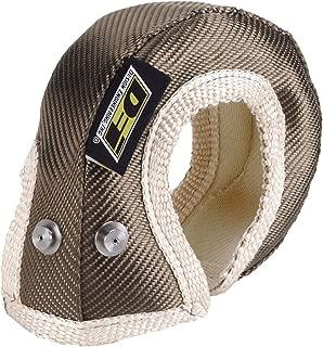 Design Engineering 010148 T25/T28 Titanium Turbo Shield - Custom Fit Turbo Blanket for Turbos with Internal Wastegates, 19