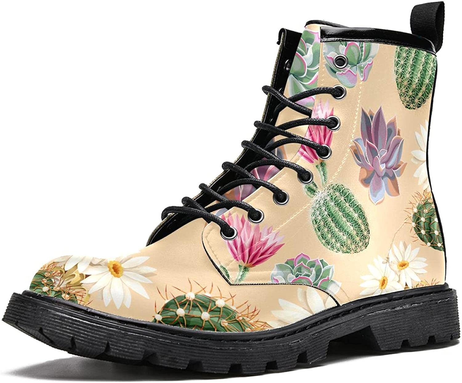 Succulent and cactus Women's Stylish Spring new work one after another Boot In stock High Boots Top Hiking