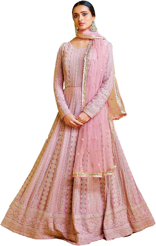 Indian Pakistani Women Girls Salwar Kameez Traditional Embroidered Designer Bollywood Wedding Festival Sangeet Dress Material Religious wear