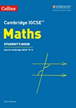 Cambridge IGCSE® Maths Student Book (Cambridge International Examinations)