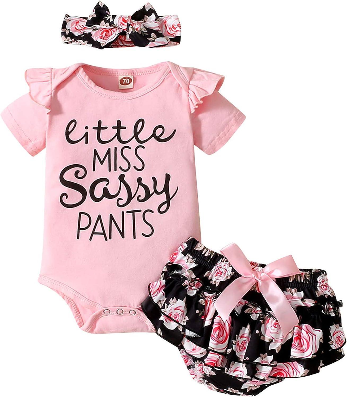 Summer Newborn Baby Girl Clothes Infant Short Sleeve Ruffle Fees free!! Oakland Mall Ribb