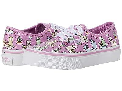 Vans Kids Authentic (Little Kid) ( Girls Shoes