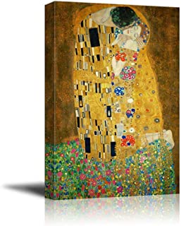 Wall26 - The Kiss by Gustav Klimt Painting - Canvas Art Wall Decor - 16