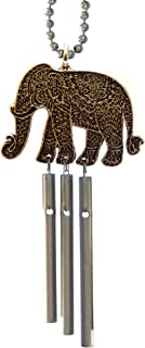 Elephant Car Musical Wind Chimes - Made in USA