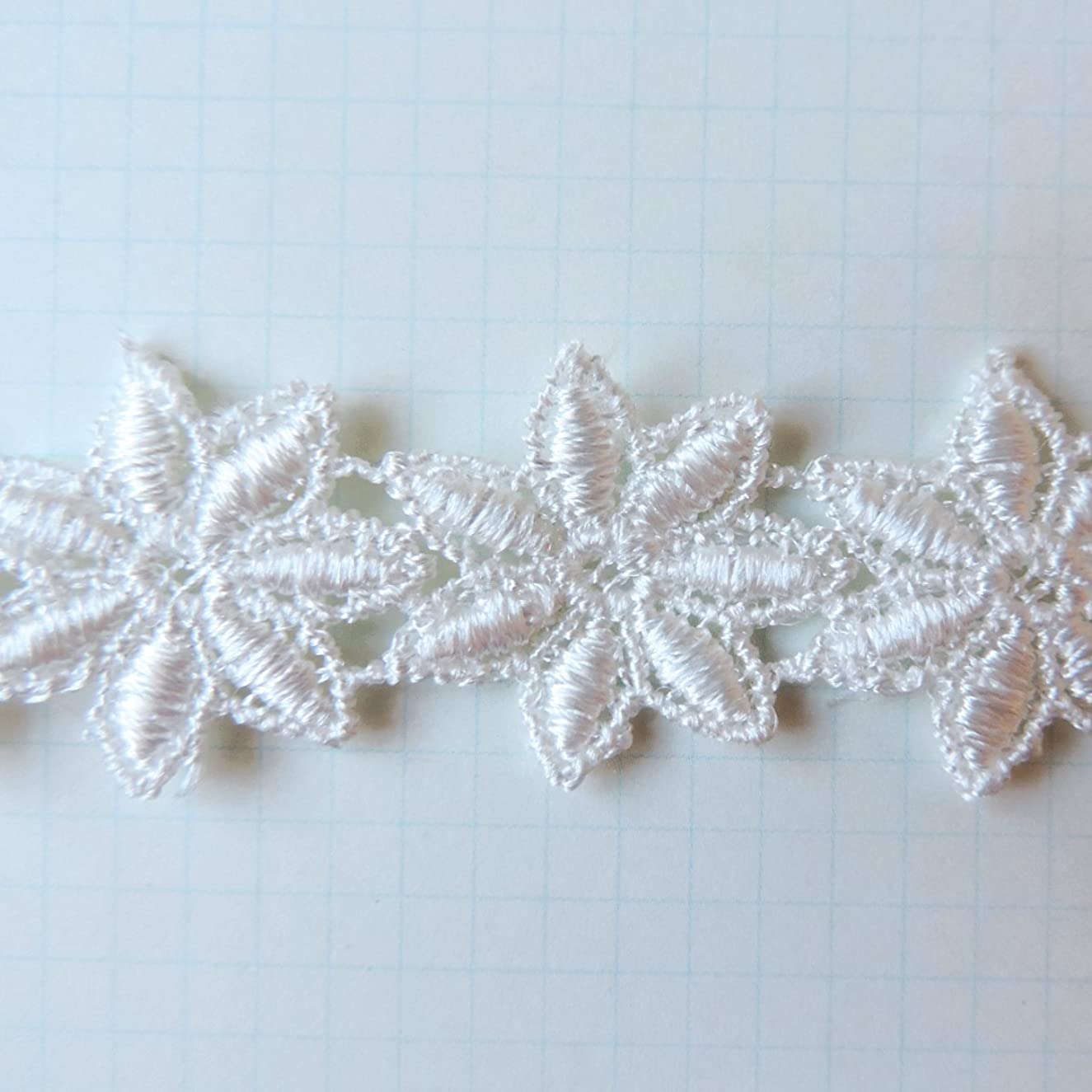 Maya Road 1 by 25Yd Vintage Alterable Lace Trim, Mini, Mums