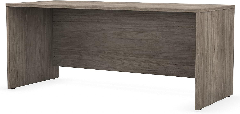 Bush Business Furniture Studio C Office Desk, 72W x 30D, Modern Hickory