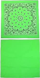 bright green bandana