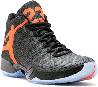 e7b1e63429 Jordan Men's Air XX9, BLACK/TEAM ORANGE-DARK GREY