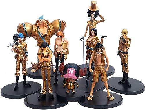 Anime Charakter Modell Spielzeug One Piece Set Ornamente PVC Statue Souvenir Sammlung Handwerk Geschenke