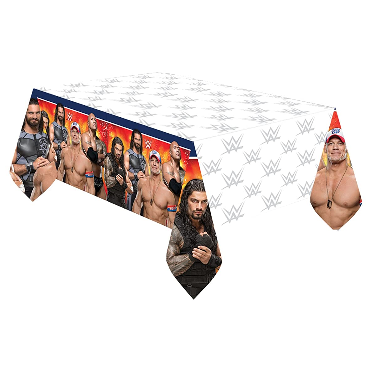 amscan WWE Plastic Table Cover (Each)
