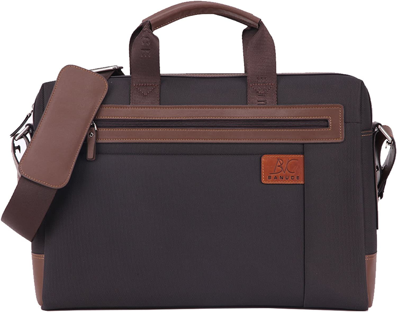 San Jose Mall Banuce Briefcase for Men Large Bag Limited time sale bag Laptop Messenger Business