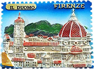 Italy Magnet Souvenirs Firenze Duomo Florence Cathedral 3D refrigerator Fridge magnets Souvenir Sticker kitchen Resin