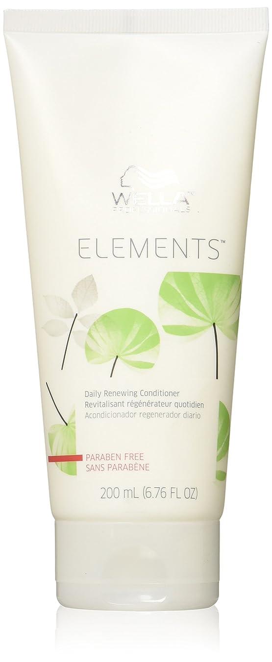 埋めるバンク有料Wella Elements Conditioner, 6.7 Ounce