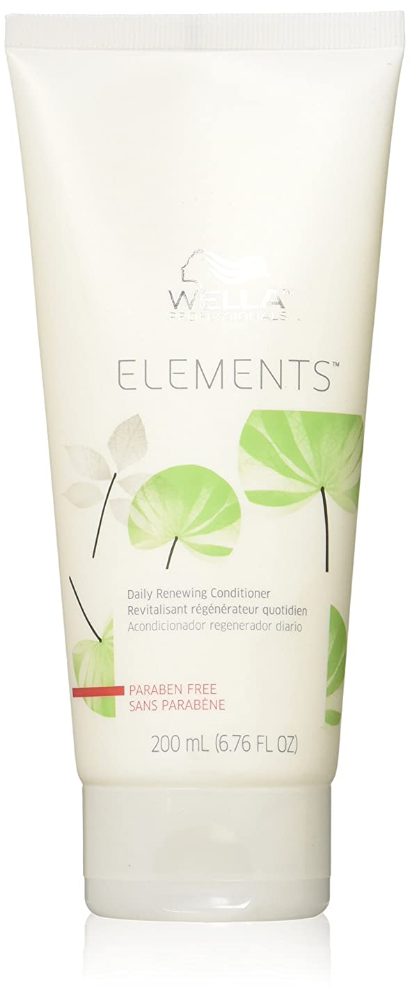 ルールハグ求人Wella Elements Conditioner, 6.7 Ounce