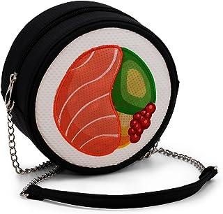 Oh My Pop! Maki-Sushi Shoulder Messenger Bag, 16 cm, Red
