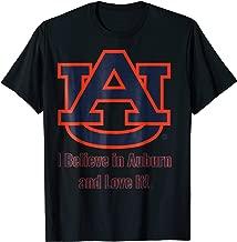 Auburn Tigers I Believe In Auburn And Love It! T-Shirt