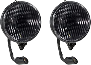 1987-1993 Mustang GT or Cobra Complete Smoked Fog Lights and H3 Bulbs