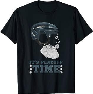 Mens Ice Hockey Playoff Time Shirt