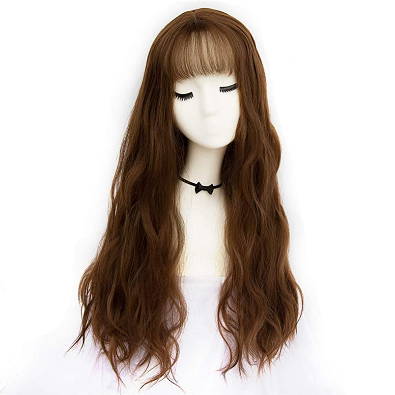 42 Colors Synthetic Long Body Wave Platinum Blond Afro Natural Hair Wigs With Bangs For Black Women Brown Gray Grey,WL 01 F5,28inches te212251459