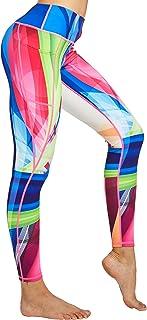 COOLOMG Damen Leggings Yoga Hose Sporthose Laufhose Training&Fitness mit Taschen S-XL MEHRWEG