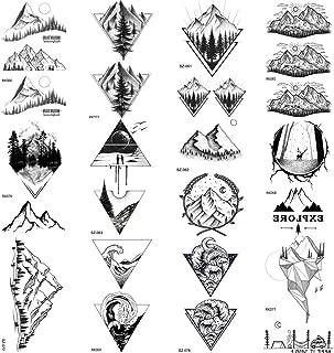 Best ocean mountain tattoo Reviews