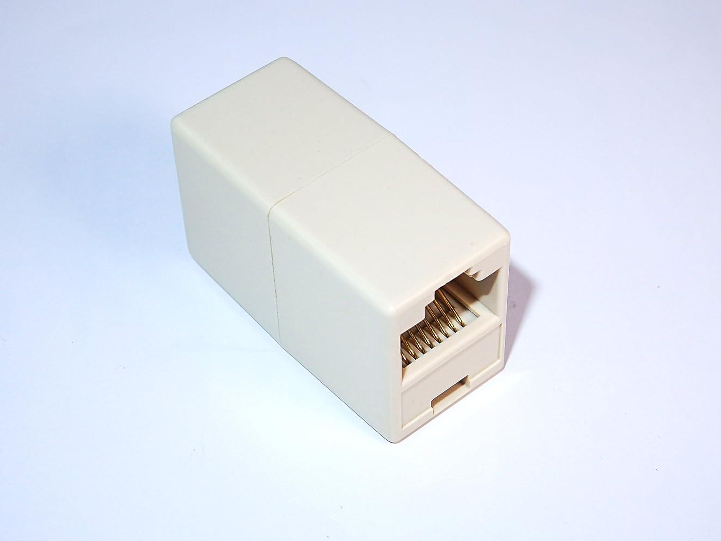 エスエスエーサービス LANケーブル延長アダプタ (カテゴリ5、6対応) SSC-15LAN