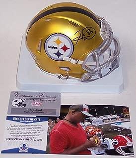 Hines Ward Signed Mini Helmet - BLAZE Speed PSA DNA - Beckett Authentication - Autographed NFL Mini Helmets