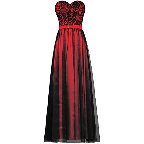 Red and Black Wedding Dresses