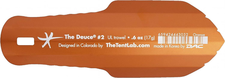 TheTentLab Deuce (R) - Paleta de mochila ultraligera, naranja ...