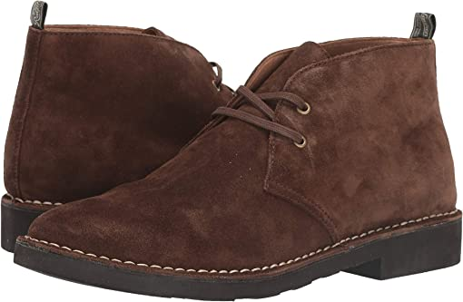 Chocolate Brown Suede
