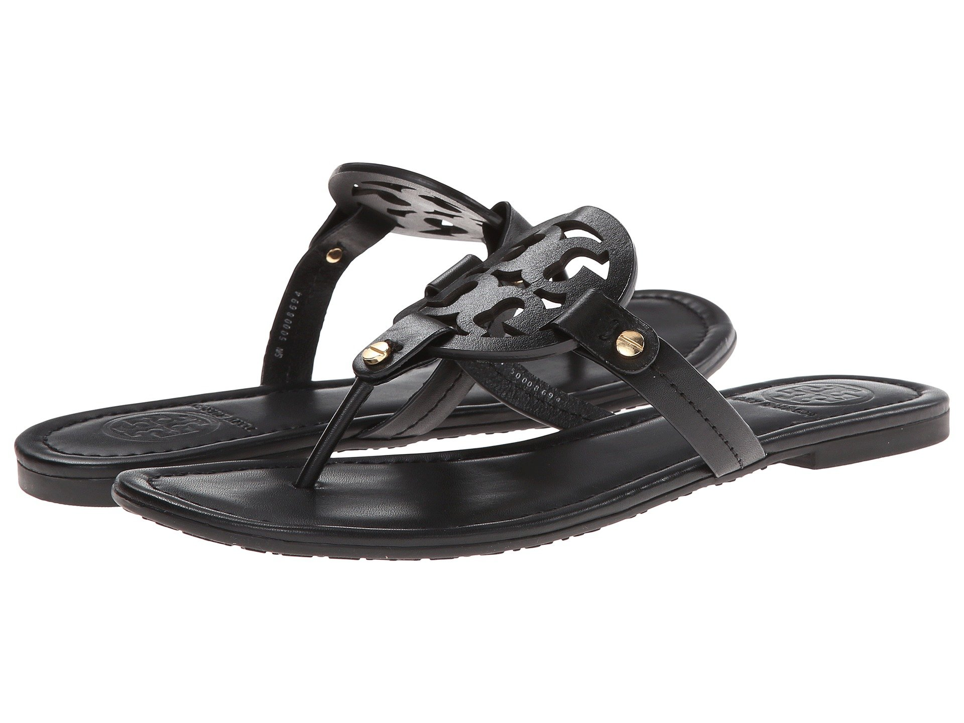 bc26b33690564 Tory Burch Miller Flip Flop Sandal at Luxury.Zappos.com