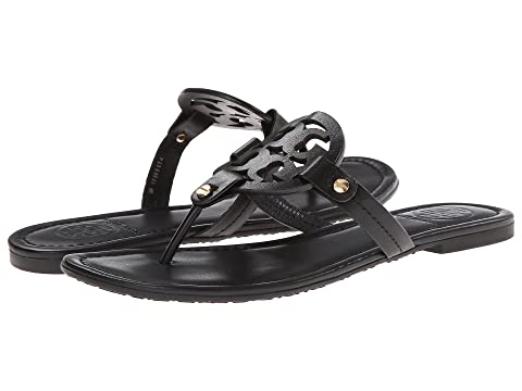 4537bd011497b Tory Burch Miller Flip Flop Sandal at Luxury.Zappos.com