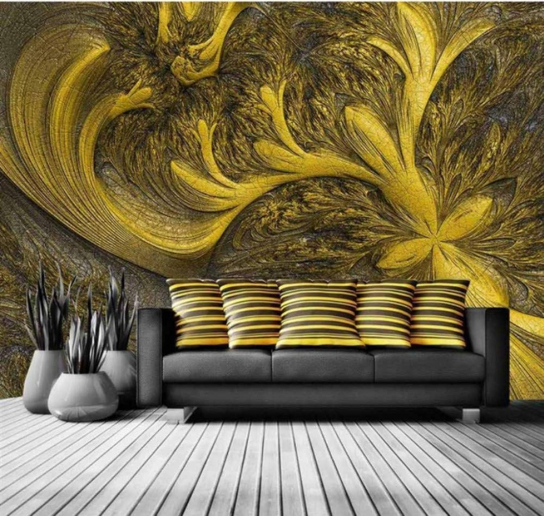Descuento del 70% barato Mbwlkj Papel Pintado Dorado En En En Relieve Fondos De Fotos Dormitorio En La Sala De Estar Mural Decoración Para El Hogar 3D Papel Tapiz Autoadhesivo-200cmx140cm  Todo en alta calidad y bajo precio.