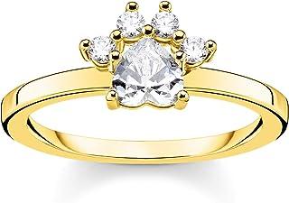 Ring 24 Karat Vergoldet Fuchs Ring Punk Love Liebe Fingerring Tier Gold
