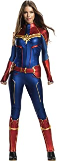 Rubie's Women's Marvel Adult: Captain Marvel Adult Grand Heritage Costume Adult Costume