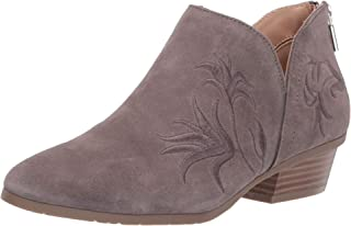 Women's Side Gig Tonal Embroidered Ankle Bootie Boot