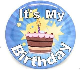 Secure ID, LLC It's My Birthday Button Happy Birthday Fun Birthday Made in The USA!