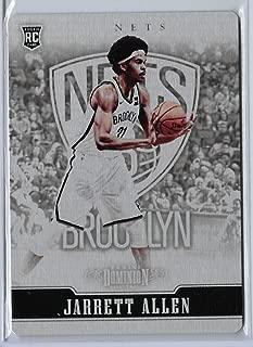 2017-18 Panini Dominion Basketball Jarrett Allen Metal Parallel Card # 84/199