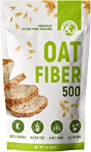 LifeSource Foods Oat Fiber 500 (1 LB) Keto, Zero-Carb, Gluten-Free, All-Natural Fiber for Low-Carb Baking and Bread, OU Ko...