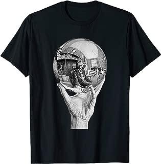 MC Escher T Shirt Drawing Hand