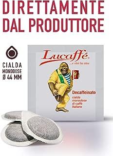 Lucaffe Decaf 100% Arabica ESE 150 Espresso Pods