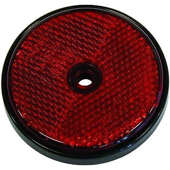 Catadioptrico Rojo Redondo 70mm 2p: Amazon.es: Coche y moto