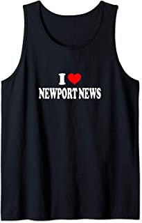 I Love Newport News Tank Top