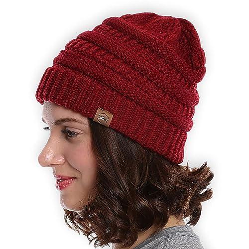 0a2ac5c473e Tough Headwear Cable Knit Beanie - Thick