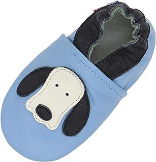 Carozoo Chaussures d'intérieur en cuir à semelle souple pour bébé (16 modèles)